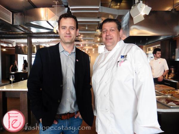 Chef Corbin and Chef John Cirillo KitchenAid Cook for the Cure Culinary Showdown