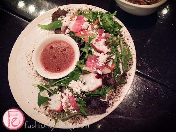 sashimi salad garden ryoji ramen & izakaya