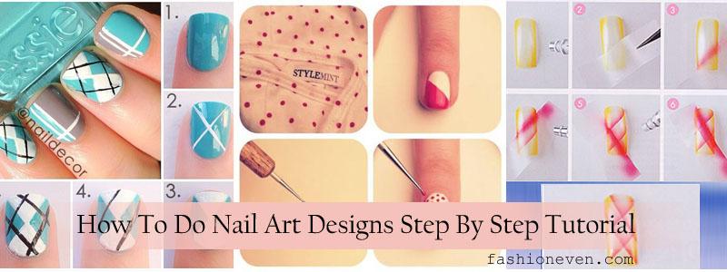 Easy Diy Nail Art Tutorials For Beginners