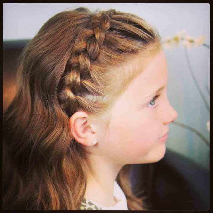 little girls hairstyles for eid 2018 in pakistan | fashioneven