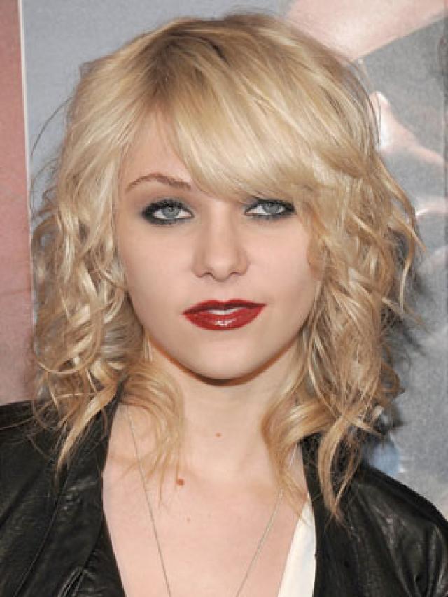 Taylor Momsen Brown Blonde Hair Style 2014