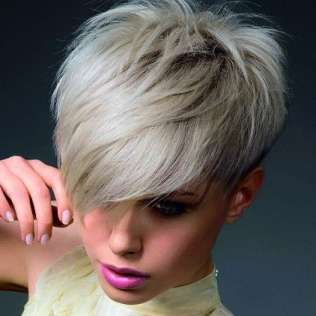 Funky Hairstyles Short For Women 2015