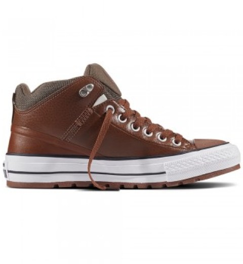 Converse Herren Sneaker All Star Street Boot High braun
