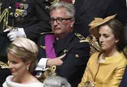 Le Prince Laurent visiblement pas à la fête