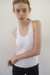 16 Year old Ondria Hardin is abused and manipulated to create offensive fashion spread