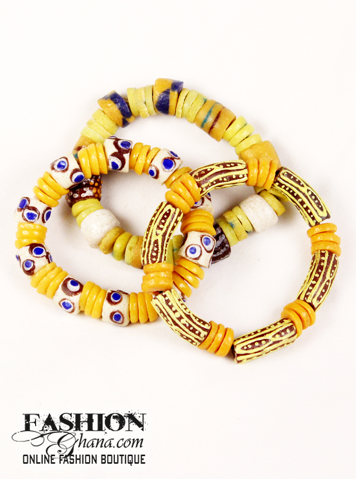Glass Trade Beaded Bracelets