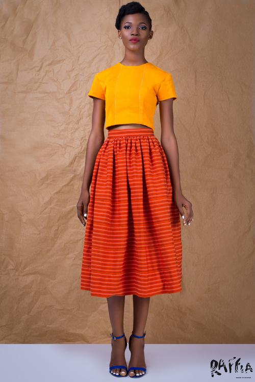 raffia fashionghana african fashion look book (3)