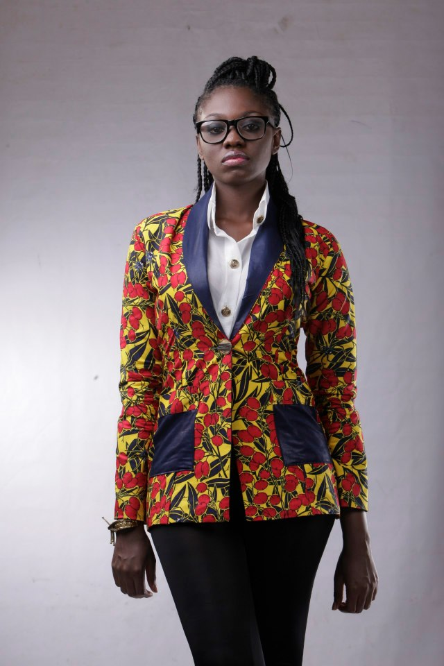 Dress from Maksi's Clothing Harmattan collection dubbed Nouvelle Royale