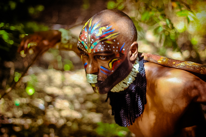 african tribal make up for men african fashion shoot fashionghana (6)