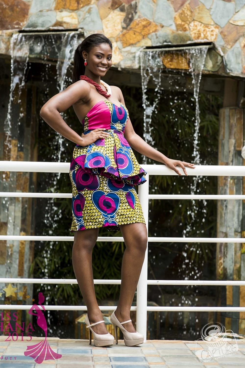 miss ghana 2015 finalists queen crowning (1)
