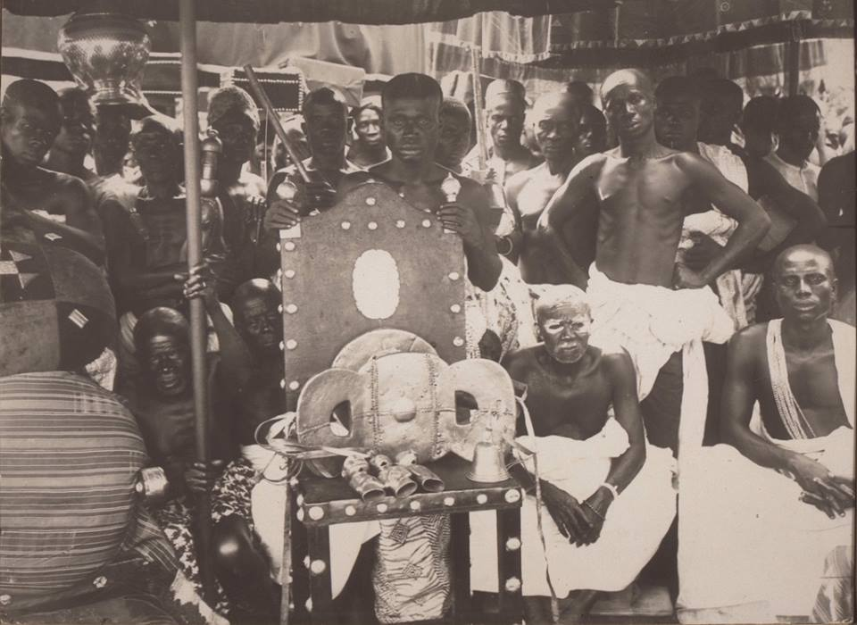 19th 20th century pictures of kings in ghana (9)