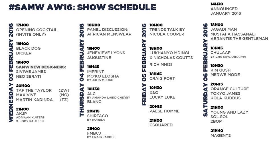16a_SAMW_Schedule