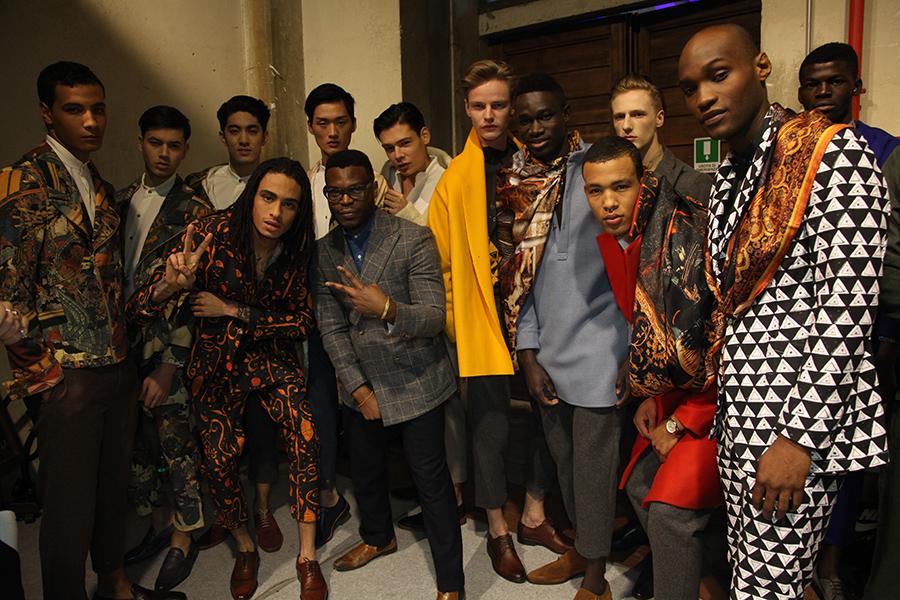 Ikiré Jones backstage at Generation Africa (c) Trevor Stuurman (124)