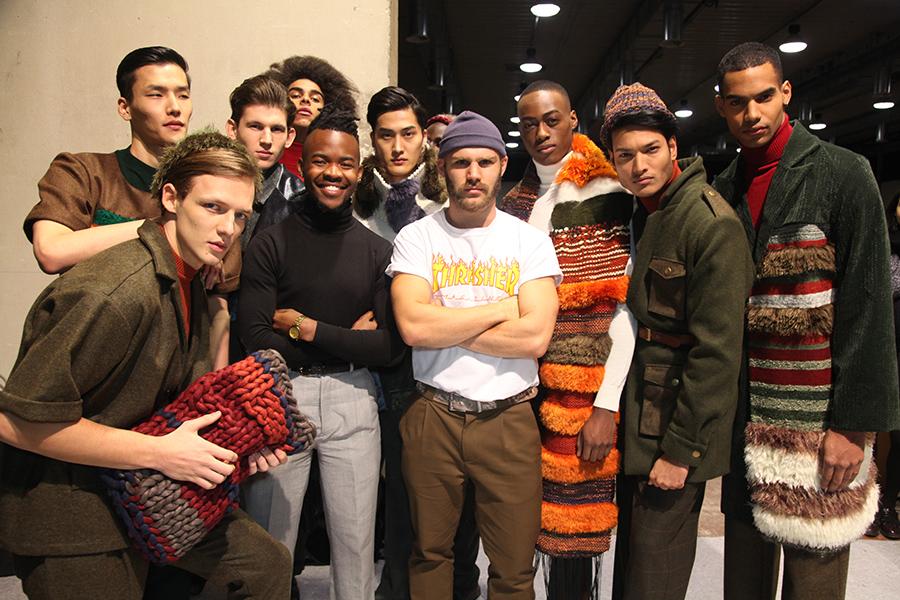 Lukhanyo Mdingi x Nicholas Coutts backstage at Generation Africa (c) Trevor Stuurman (113)