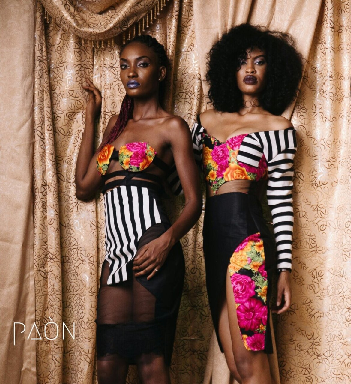 house of paon fashionghana african fashion look book (12)