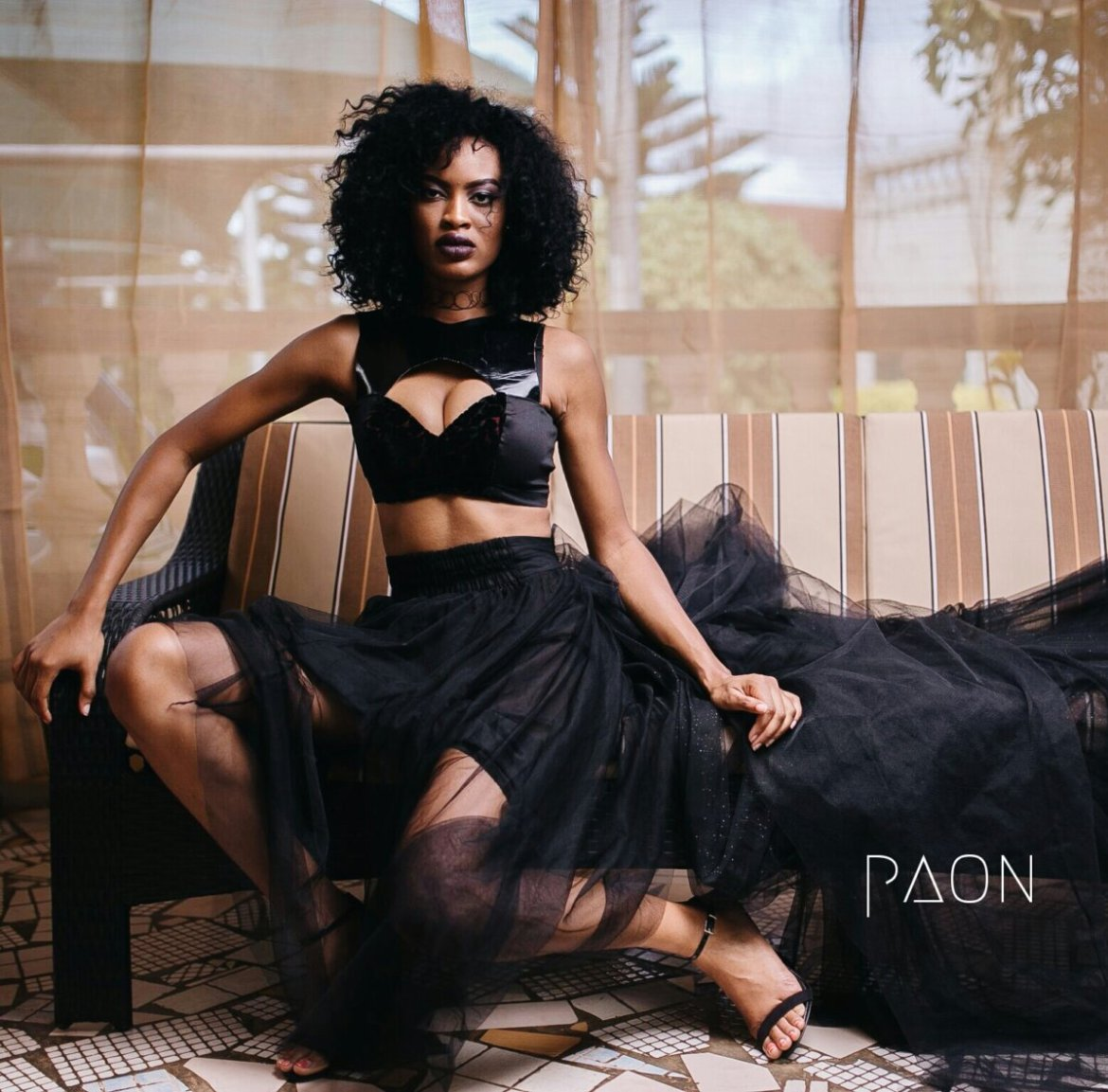 house of paon fashionghana african fashion look book (2)
