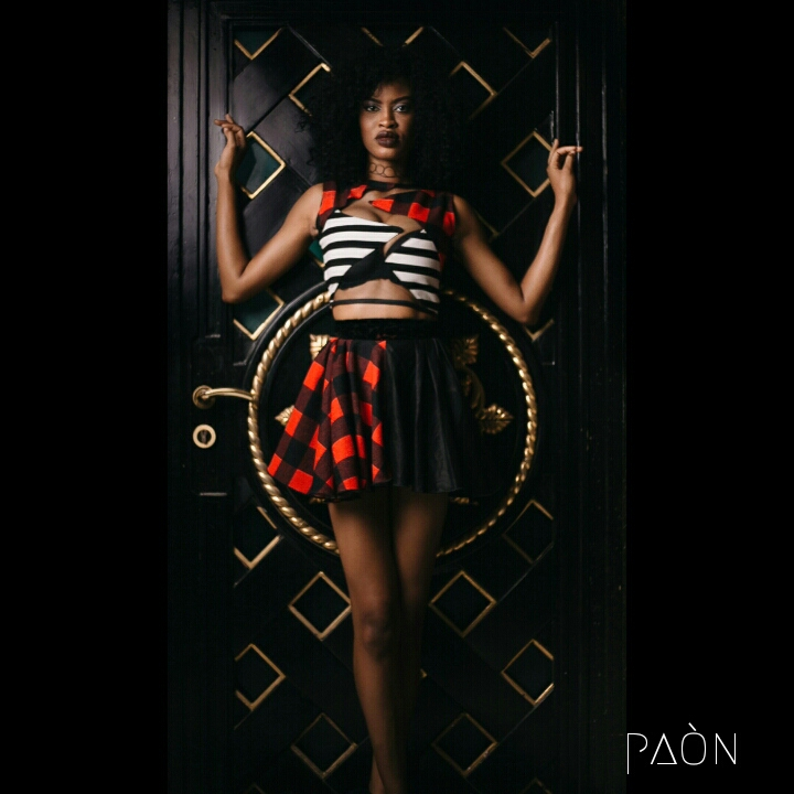 house of paon fashionghana african fashion look book (28)