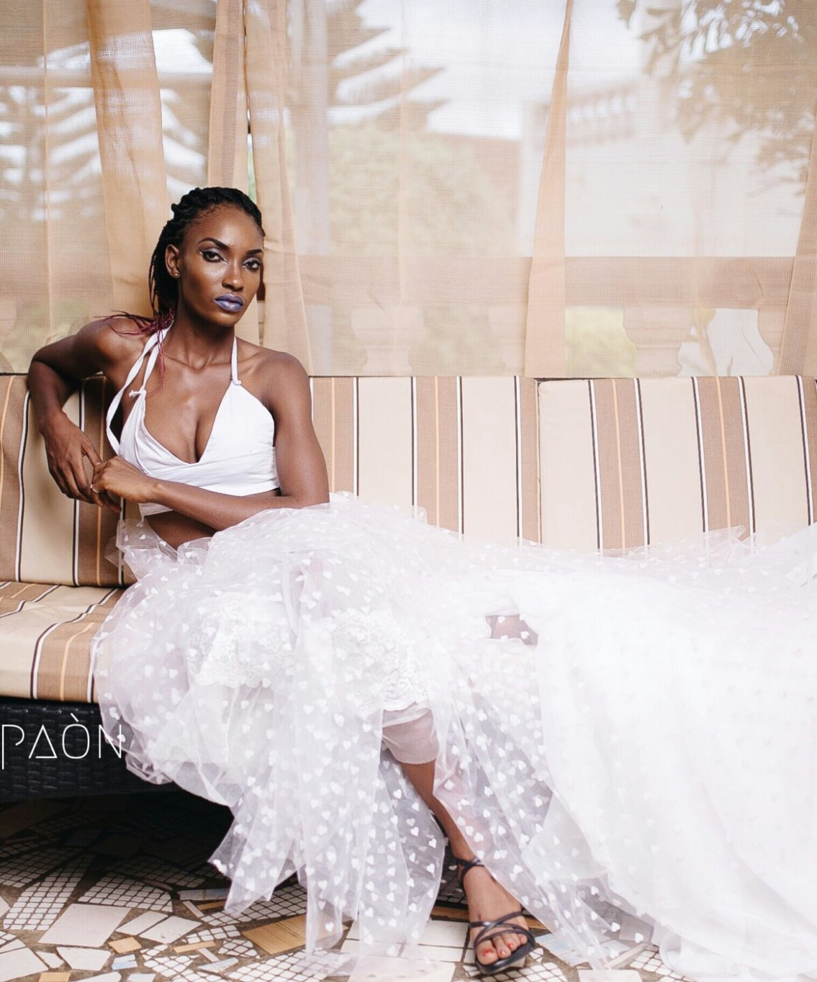 house of paon fashionghana african fashion look book (29)
