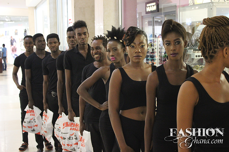Picture Of The Accra Mall Fashion Show by Black Onyx. Read More Here
