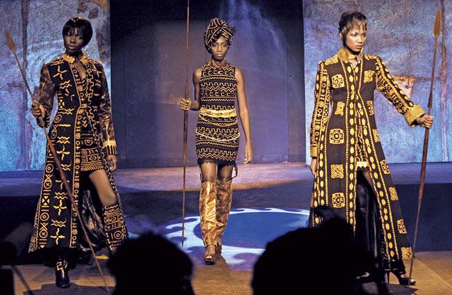 Beautiful fashion by the late Kofi Ansah, Ghana's first international designer