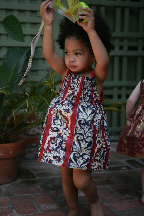 babies in African fashion (1)