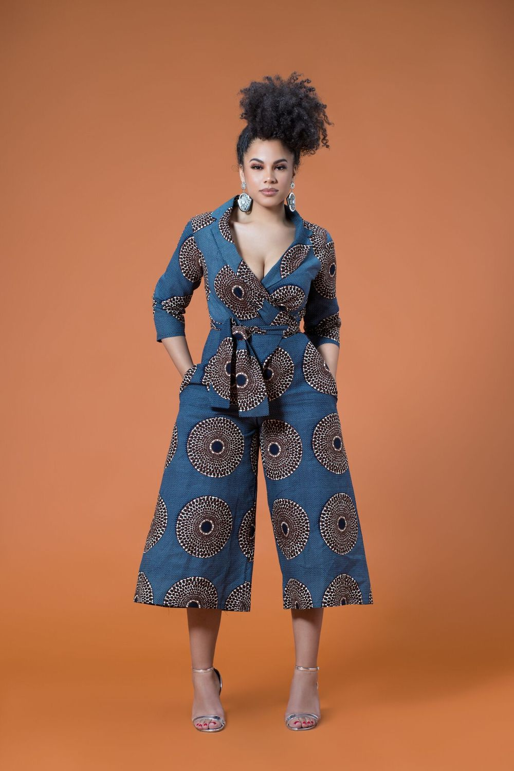 15 Latest African Print Jumpsuit For Your Inspiration ...