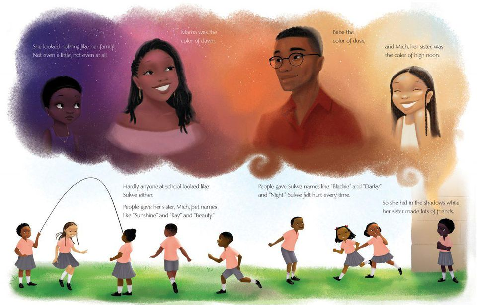 A page from Lupita's book