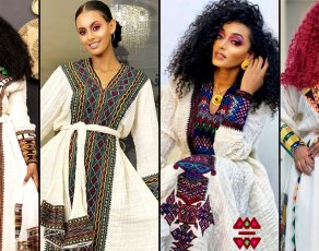 #fGSTYLE: Here Is How To Get The Ethiopian Habesha Kemis Looks Dominating Their Style Influencers & Designers
