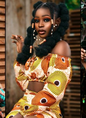 #HOTSHOTS: Nigerian Beauty Jane Chidinma Is Absolutely Gorgeous In African Print Looks By Style Kouture
