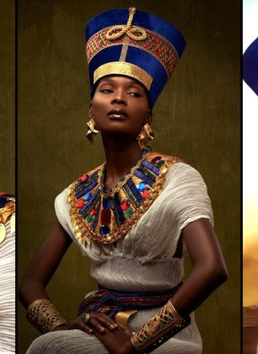#HOTSHOTS: Nigerian Photographer Gives Us A Taste Of True Egyptian Beauty In Jaw Dropping Editorial