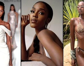 #MODELCRUSH: Meet The Slender Burundi Model Leila Who Slays In Selfies, Runway Shots, Editorial & Swimwear