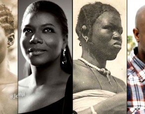 PICS: See Shocking Resemblances Between African American Celebrities & Historic Images Of Africans Curated By Jessi Jumani