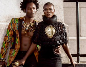 #HOTSHOTS: Gh Photographers TwinsDntBeg Just Expose Raw Africanacity In This Extraordinary Fashion Editorial