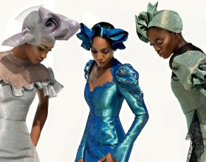 Nigeria's Deola Sagoe Just Released Their Superb 'Ethereal' Collection & It's Aso Ebi At It's Finest!
