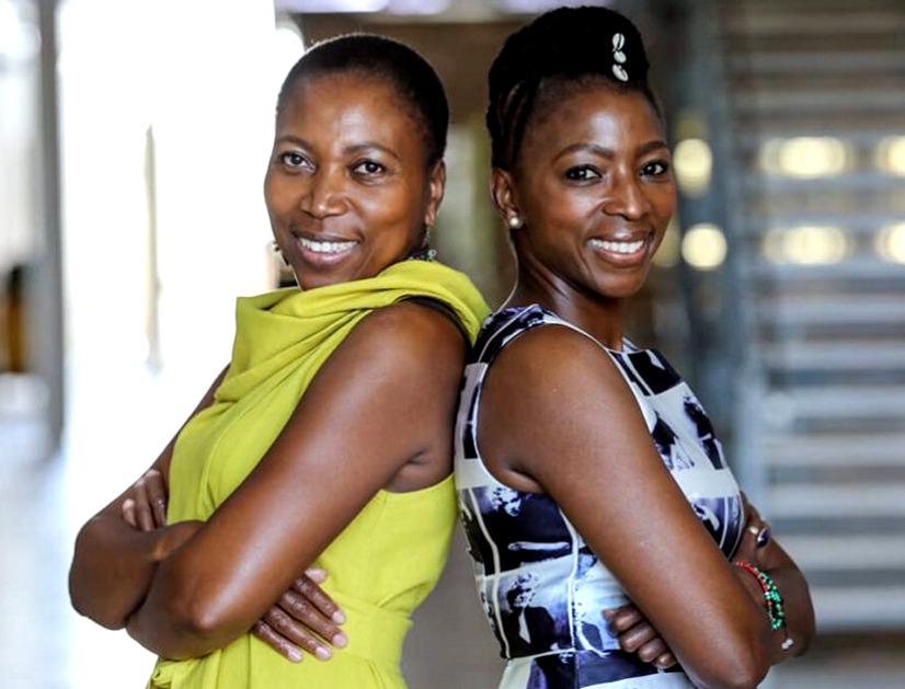 diamond Mosibudi Jo Mathole and Khomotso Ramodipa