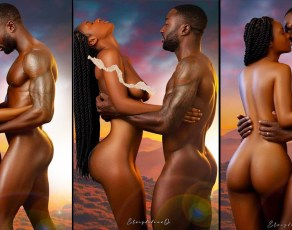 #HOTSHOTS: The Beauty Of Ebony Love Captured Fantastically By Elrigde Dravo Photography In These Amazing Images
