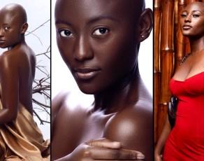 #MODELCRUSH: Meet The Bald Stunning Ghanaian Model Akankisim Capturing The Heart Of Many Photographers