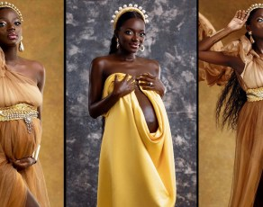 #HOTSHOTS: Here All The Stunning Maternity Images Of Brand Influencer Chantell Dapaah