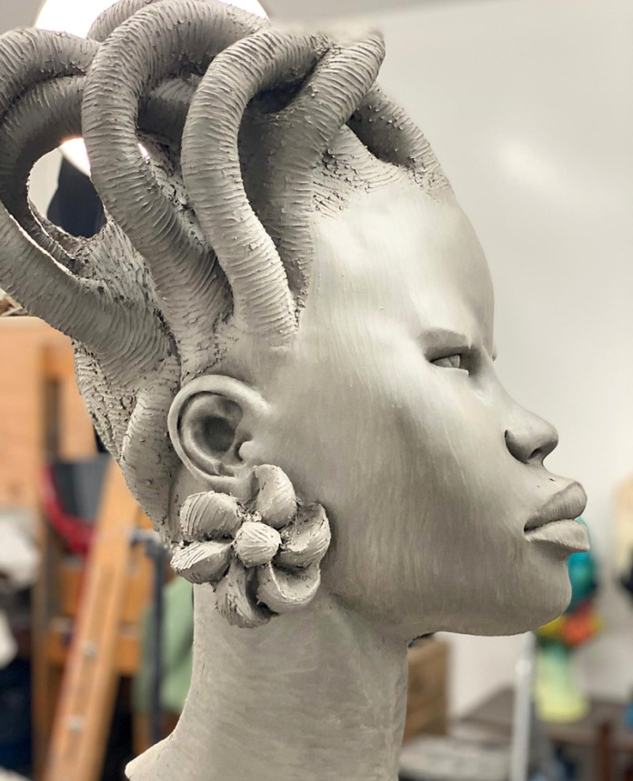 chukesart black sculptures