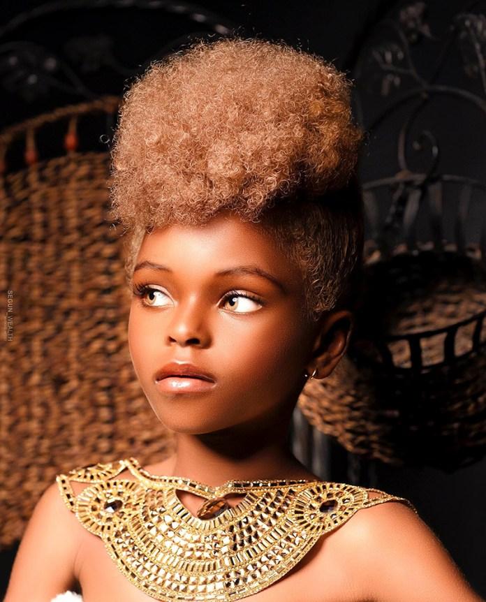 onyinyechi nigerian child model