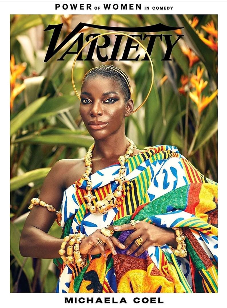 Michaela Coel Web variety magazine
