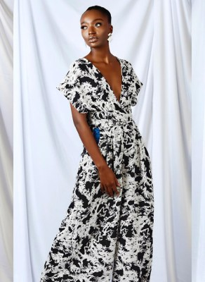 Ghanain Fashion Brand SakiCole Serves A Remarkable Ready-To-Wear 2021 Collection With Monochrome Leisure Fantasies