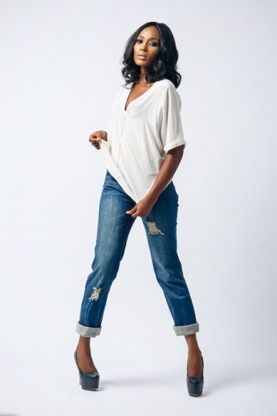 AD by Agbani Darego Affordable Luxury Lookbook December 2013 FashionGHANA African fashion (5)