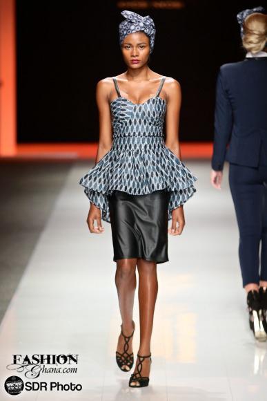 Khosi Nkosi mercedes benz fashion week joburg 2015 african fashion fashionghana (8)