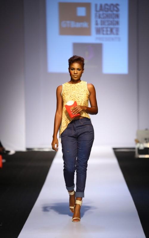 Kiki Kamanu lagos fashion and design week 2014 fashionghana african fashion (4)