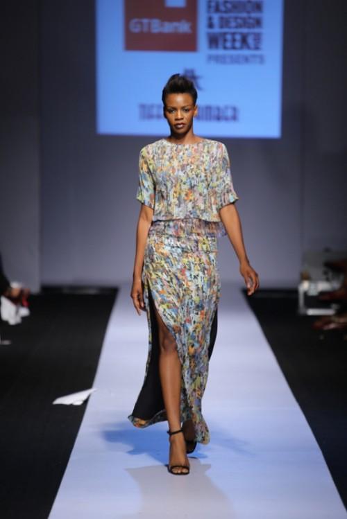 Tiffany Amber lagos fashion and design week 2014 fashionghana african fashion (2)