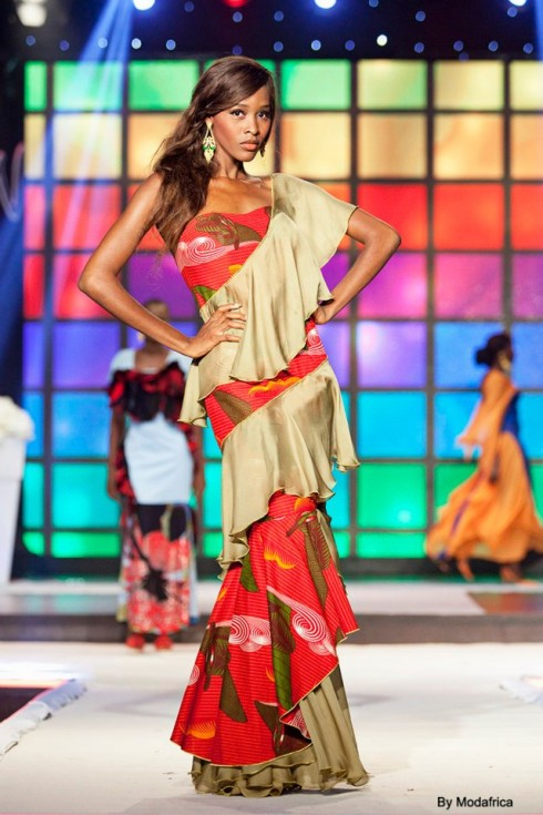 Image of Model from Afrik Fashion Show 7
