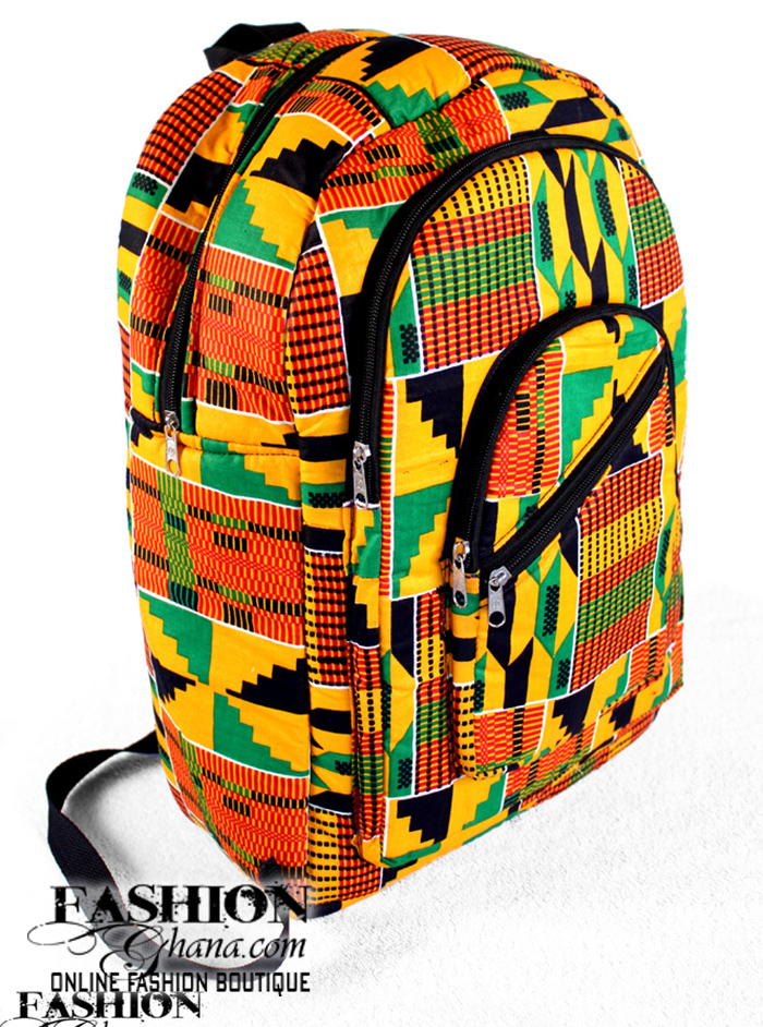 Kente/African Print BackPacks