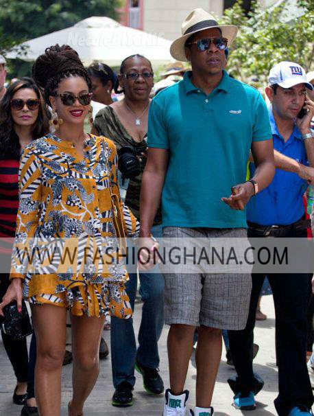 Beyonce & Jay Z Celebrating Their 1 Year Anniversary in Cuba.