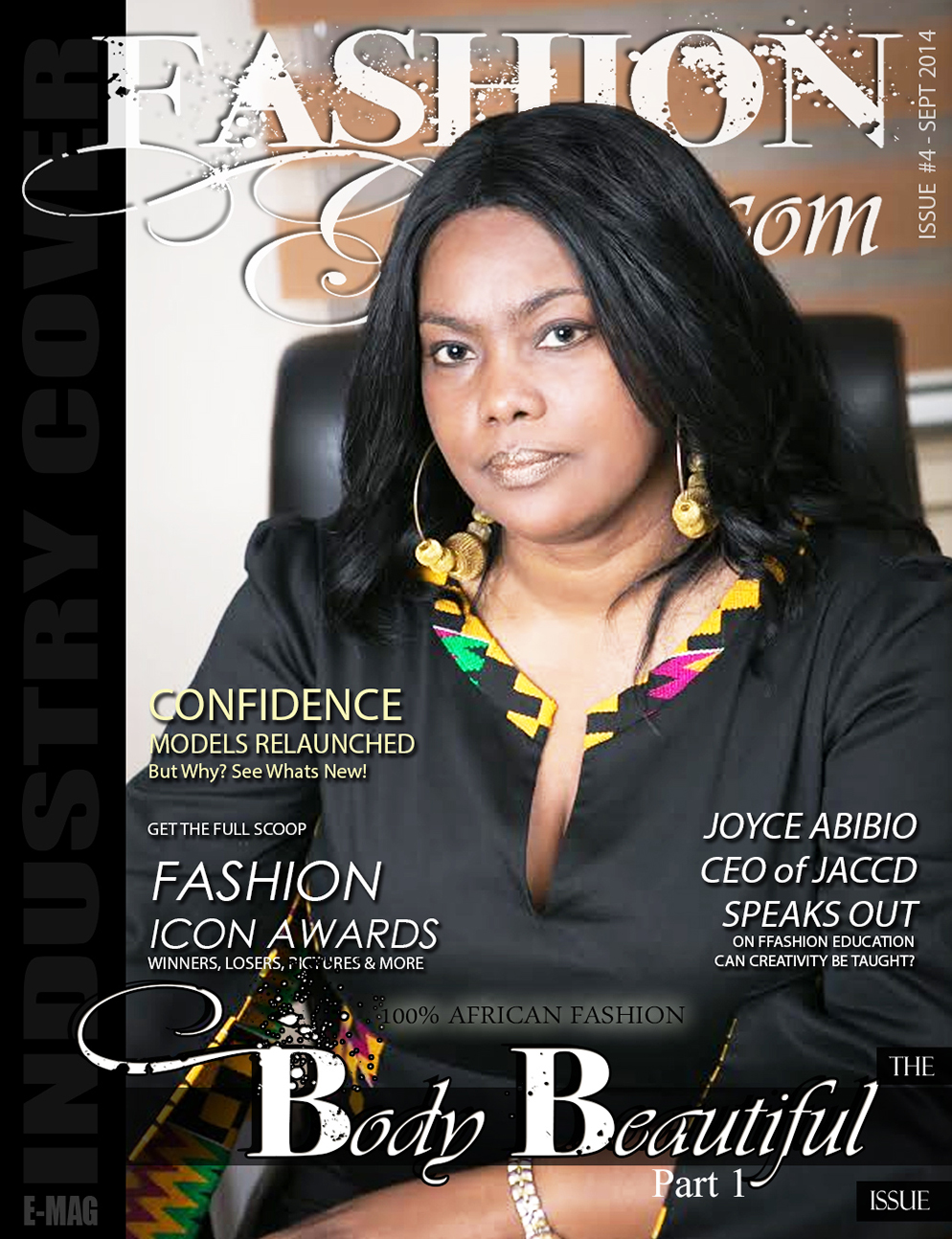 Joyce Ababio Makes Front Cover Of Our Body Beautiful Industry Term Fashionghana Com 100 African Fashion